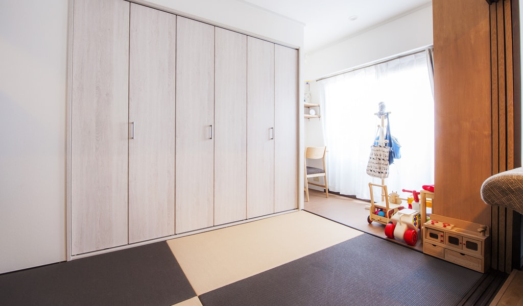 Japanese-style room&Free room -和室&フリールーム-