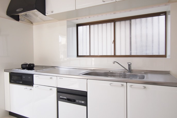 明るいキッチン空間へ 広島市安佐北区