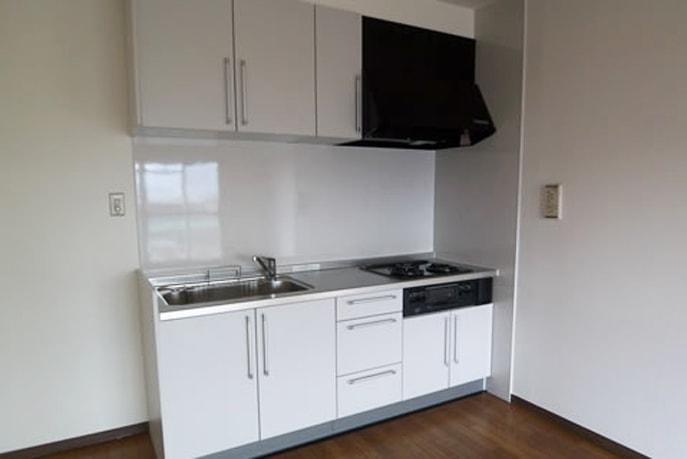 シンプルなキッチン  広島市南区