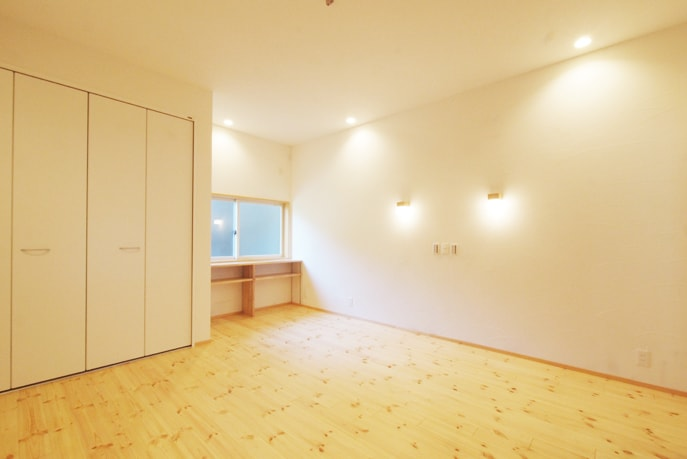 和室をベッドルームとキッズルームに 広島市安芸区