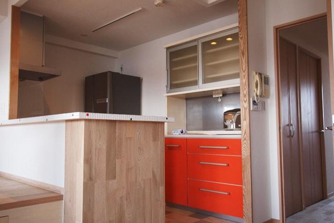 小上がりのある自然素材の家 広島市南区 reno+plus17