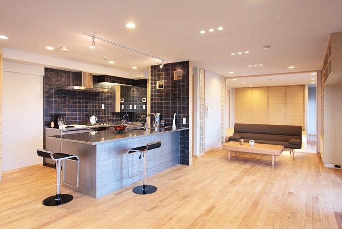 ライフスタイルにフィットする空間 広島市中区 reno+plus02