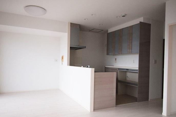 180°見渡せるキッチン空間 広島市西区