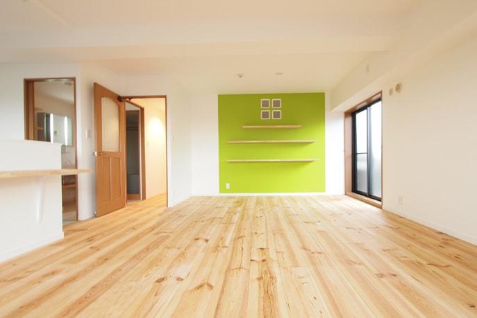 ナチュラル空間を飾るシンプル家具 広島市佐伯区