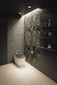 タンクレストイレと広いトイレスペースをリノベーションで確保