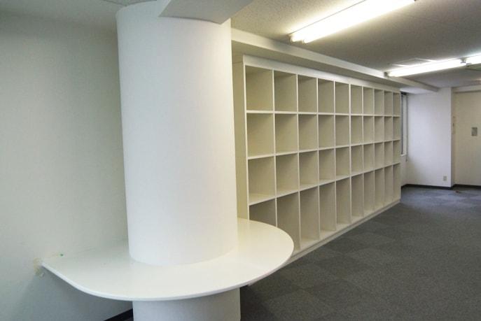 オフィスの大容量オリジナル収納 広島市中区