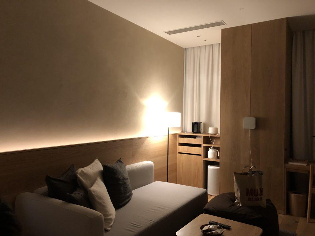 MUJI HOTEL GINZA に宿泊した時の画像02